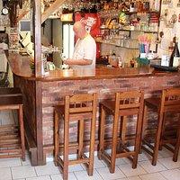 Interiér restaurace - výčep