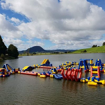 Adrenalin Adventure Park Activities  NZs largest Floating obstacke course  Paddle boards, kayaks