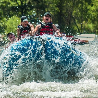 """Join in on the action with Adventure Whitewater! This is world famous """"Beartooth Drop"""""""