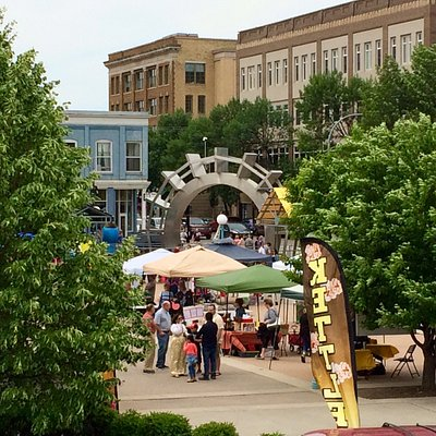 It is great to attend events at the Grand Forks Town Square!
