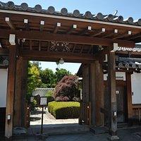 霊雲院の門前