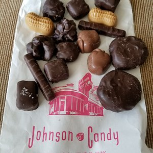 lovely assortment of candies