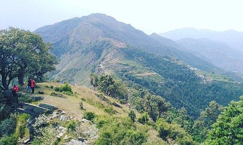 Trek to heaven valley....