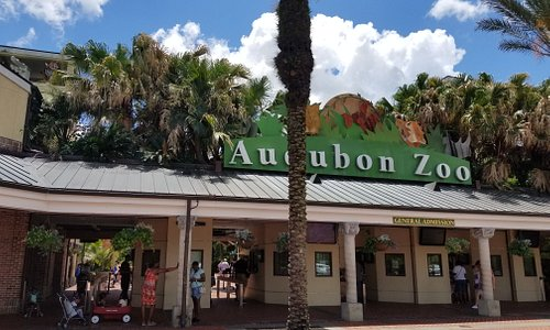Entrance to the Audobon Zoo