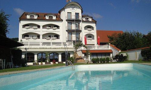 Wohlfühlgarten im Hotel beim Krutzler