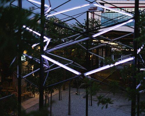 The light exhibit that lights up APW Bangsar by night!