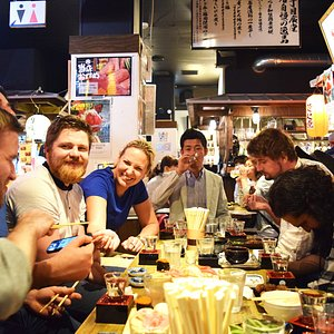 Sake tasting session to try many variety of great local sake