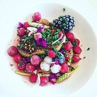 foie gras fruits givrés