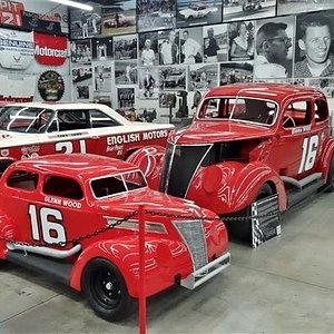 On display in back garage.