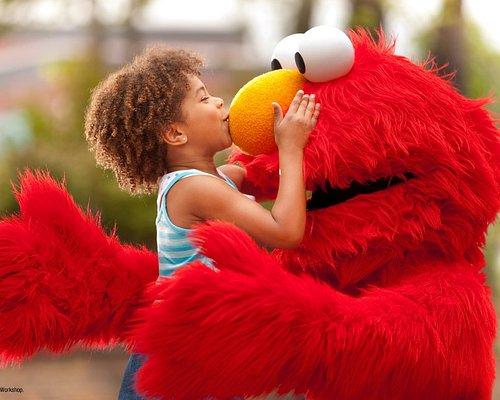 Hugs from everyone's favorite Sesame Street Friends