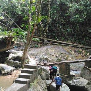 Titi Kerawang Waterfalls
