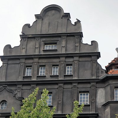 die schönen alten Häuser