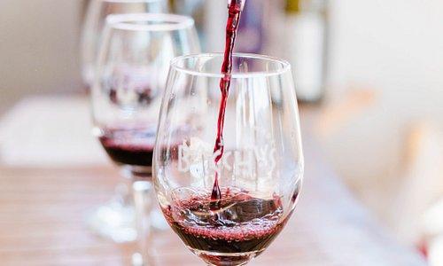 Wine tasting in Manhattan Beach.