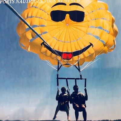 Fabuleuse expérience de parachute ascensionnel !!! Réservez sans plu attendre, c'est juste fanta