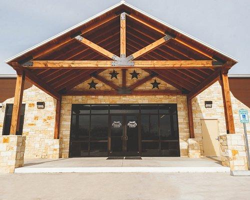 Entrance to Texas Gun Club. Texas Luxury, Southern Hospitality!