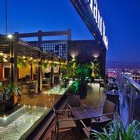 Brilliant Top Bar - outside area