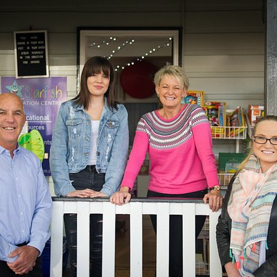 Our staff are always happy to help. Come see Kirstie, Richard, Erin and Mollie today