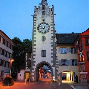 """Siegelturm zur """"blauen"""" Stunde"""