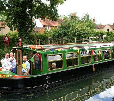 John Pinkerton Canal Cruising