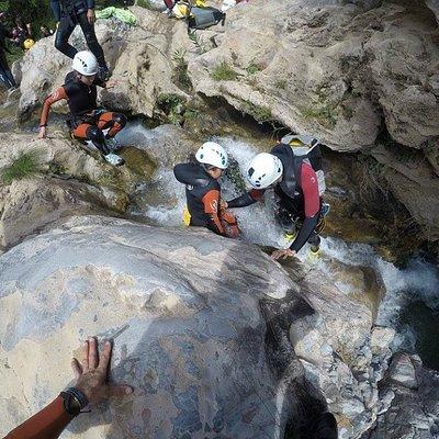 Descenso Río Verde , Guías de Barrancos titulados