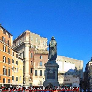 Campo de' Fiori, Roma, Italia