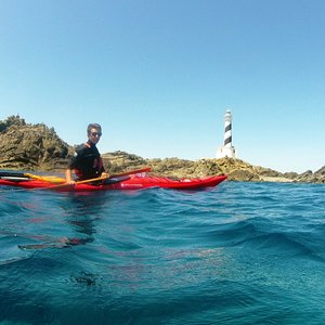 Menorca en kayak- Faro Favàritx