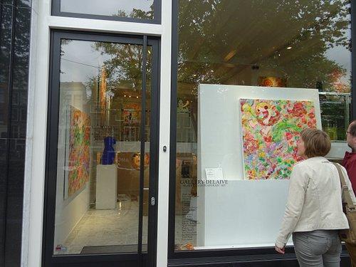 Delaive Modern & Contemporary Art Gallery;Spiegelgracht 23