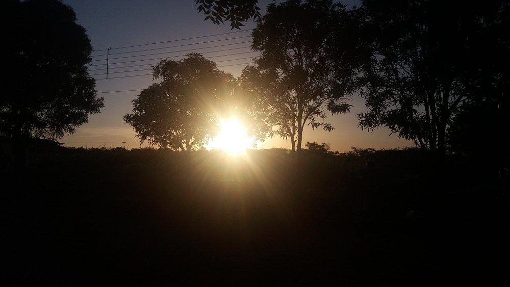 Pôr do Sol na Fazenda BANESA