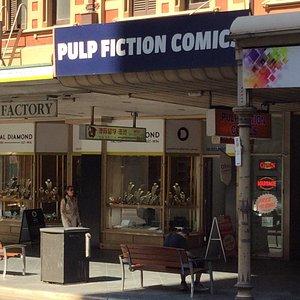 Pulp Fiction Comics.