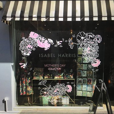 Isabel Harris Mother's Day Window