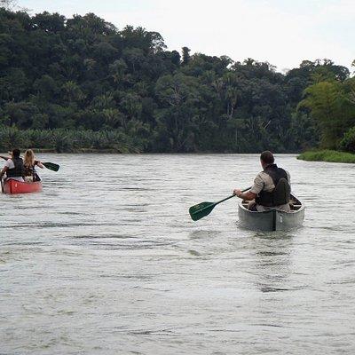 Rio Miel Canoe trip Colombia