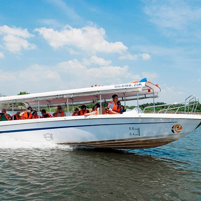 Saigon-river-speedboat-tours, cu-chi-tunnels-boat-tours,Mekong-river-day-trip,river-sunset-boat-