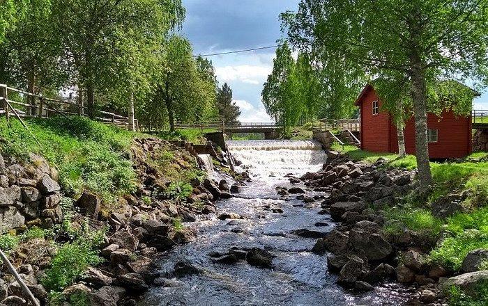 Swensbylijda hembygdsområde i Svensbyn