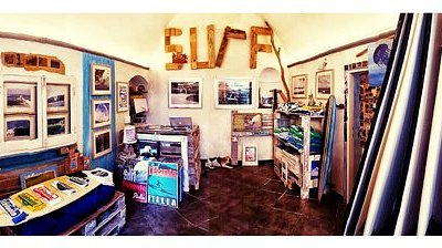 Inside Surflevanto shop