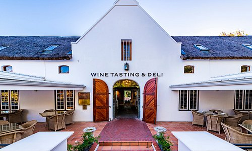 The Lanzerac Tasting Room & Deli entrance