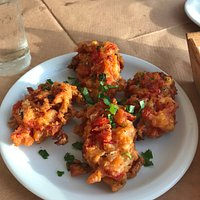delicious tomato fritters