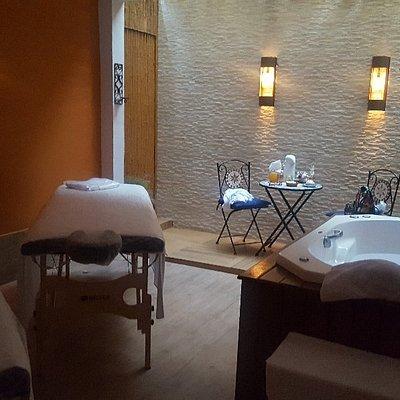 Um dos espaços de day spa