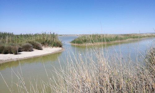 schöne Flusslandschaft