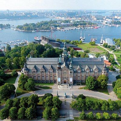 Nordiska museet på Djurgården. Foto: Nordiska museet
