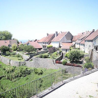 Vue de château Chalon