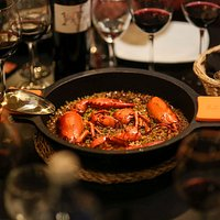 Arroz de bogavante/Lobster rice
