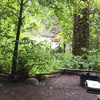 Loved the river view from our campsite.  Incredible hiking trails that overload my photographic