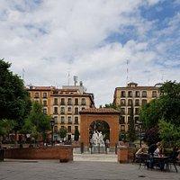 Superb plaza