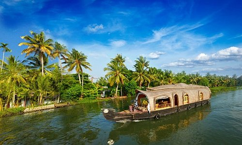 Alleppey backwater Tour - Day Time view