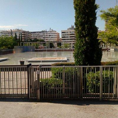 Precioso parque.