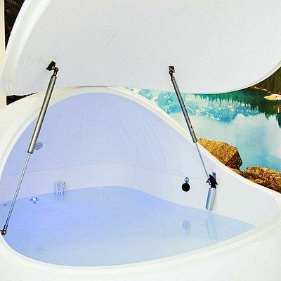 Float pod at Float Culture