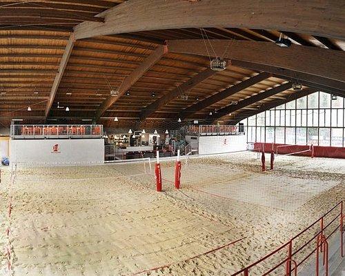 Campi da Beach Volley interni al palazzetto