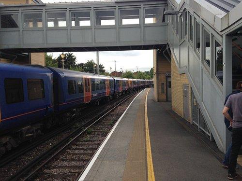 View along Alton platform