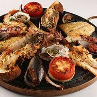 Grelhado de Frutos do Mar