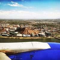 Phoenix Sky Harbor Airport is less than 10 minutes from Tempe Town Lake.Photo by Philip Haase.